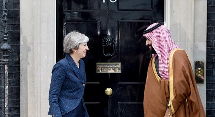 Suudi+Arabistan+Veliaht+Prensi+Bin+Selman+May+ile+g%C3%B6r%C3%BC%C5%9Ft%C3%BC