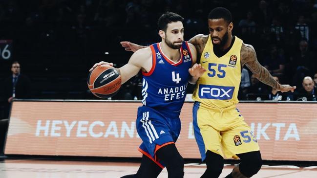 Anadolu+Efes,+konuk+etti%C4%9Fi+Maccabi+FOX+Tel+Aviv%E2%80%99e+94-81+ma%C4%9Flup+oldu