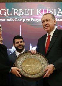 Cumhurbaşkanı Erdoğan, 'Gurbet Kuşları' belgeselinin galasına katıldı