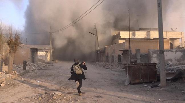 İdlib'de hava saldırısı 4 ölü 11 yaralı