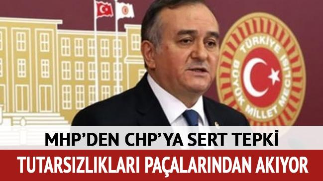 MHP'li Akçay'dan CHP'ye tepki: Tutarsızlıkları paçalarından akıyor
