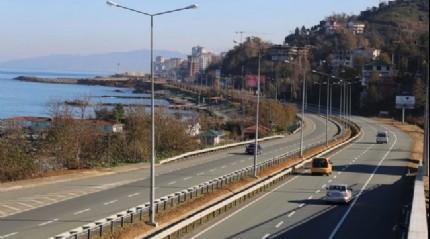 Karadeniz Çevre Yolu için 16 stadyuma eşit yatırım