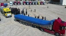 Afrin'e 12 TIR gıda yardımı gönderildi