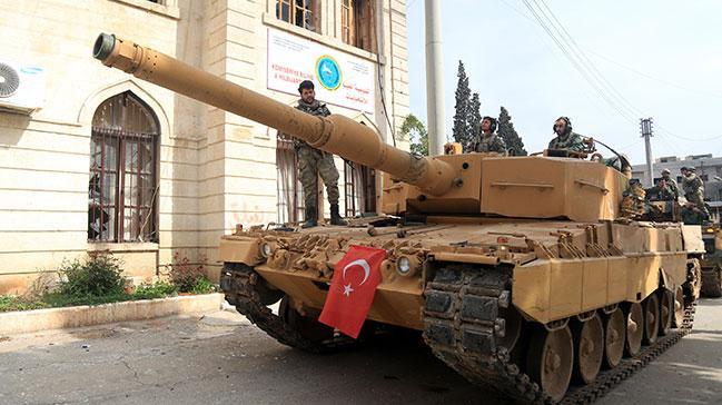 Suriyelilerin Afrin sevinci
