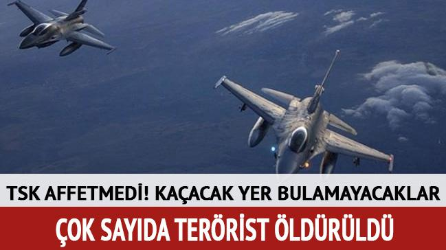 PKK'nın terör kamplarına operasyon