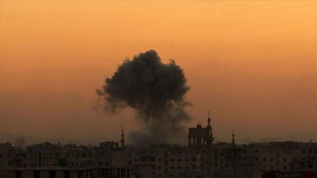 Rejim güçlerinden İdlib'e füze saldırısı