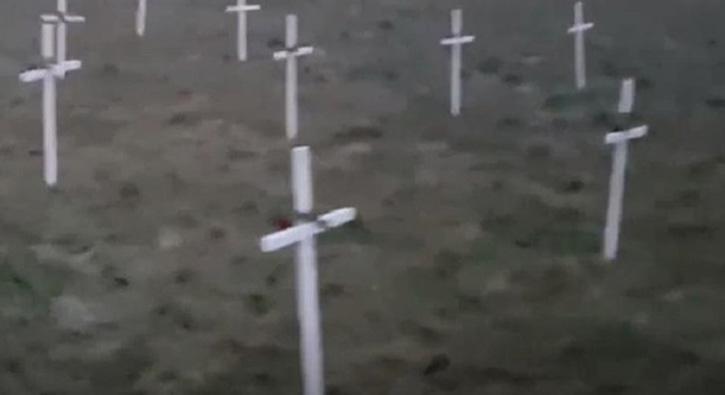 Hollanda şaşırtmadı: Cami inşaat alanına haç dikilmesine yargılama yok