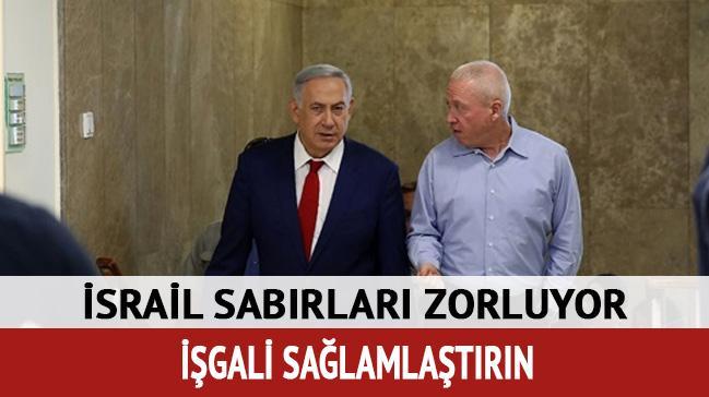 İsrailli Bakan'dan 'Batı Şeria'nın işgal altında kalması' çağrısı
