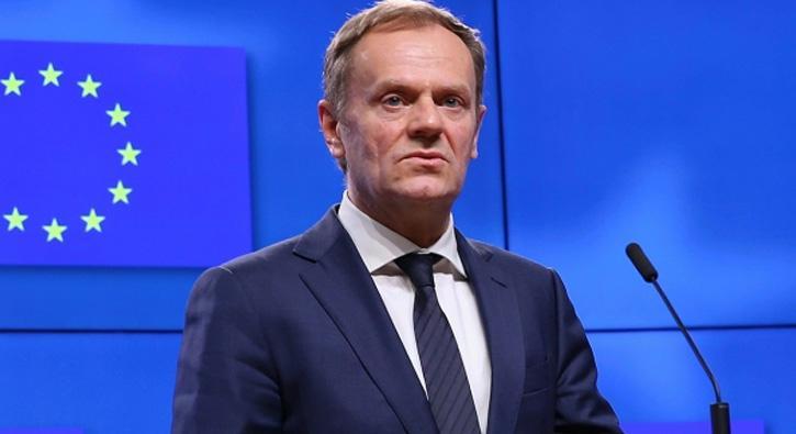 AB Konseyi Başkanı Tusk: AB olarak ABD'nin gümrük vergilerinden muaf tutulmak  istiyoruz
