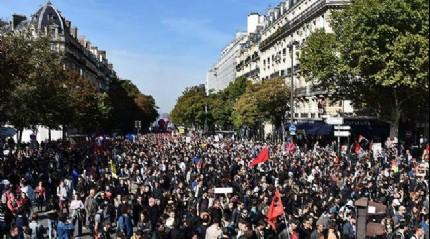 Fransa'da ilkbahar grevi