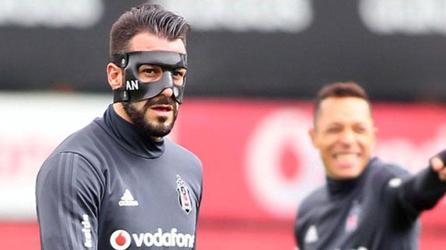 Beşiktaş'ta Aytemiz Alanyaspor maçı hazırlıkları
