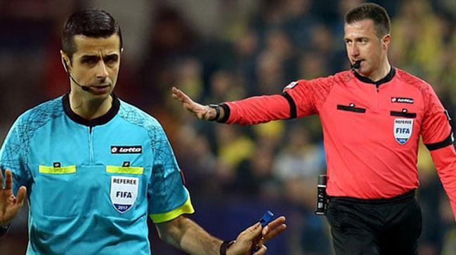 Türk hakemler milli maçlarda görev yapacak