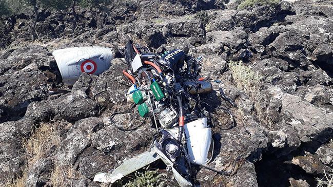 Hatay'da insansız hava aracı düştü