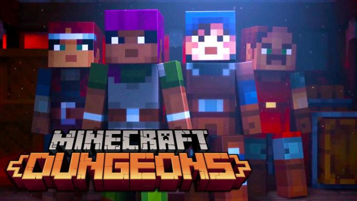 Minecraft Dungeons PC için duyuruldu