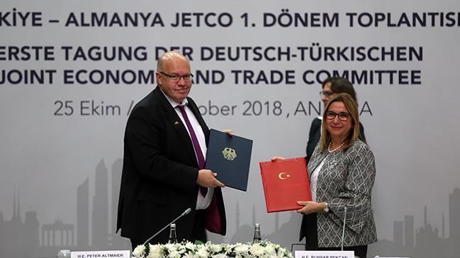 Türkiye ile Almanya arasında JETCO protokolü imzalandı