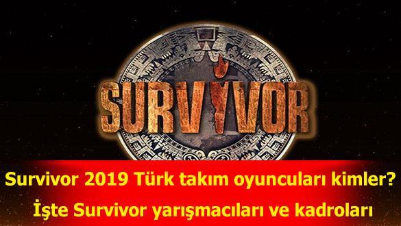 """2019 Survivor oyuncuları kimler"""" İşte Survivor yarışmacıları ve kadroları"""