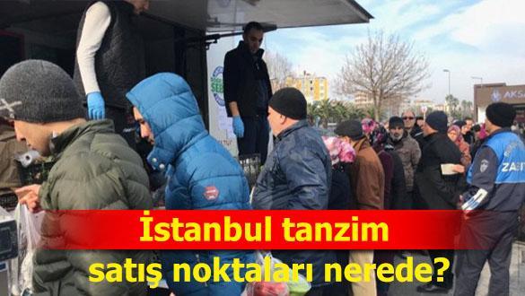"""Son Dakika: İstanbul tanzim satış noktaları ve fiyatları ne kadar"""""""