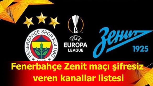 Fenerbahçe Zenit maçı kıran kırana geçti