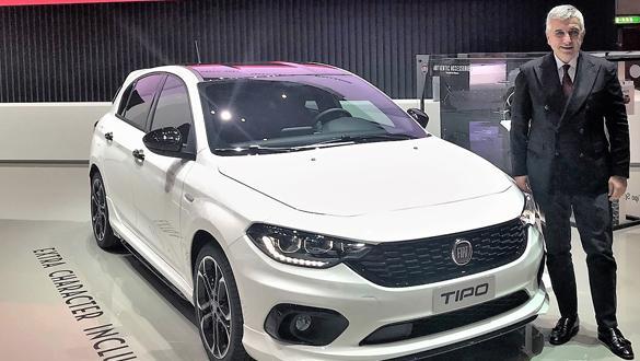 Türkiye'de üretilen Fiat Egea'nın sportif versiyonu Cenevre'de