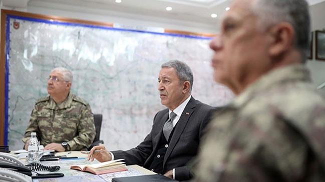 Milli Savunma Bakanı Hulusi Akar: Hainleri geldikleri yere gömdüler