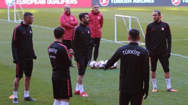 Milli takımımız Moldova maçına hazır