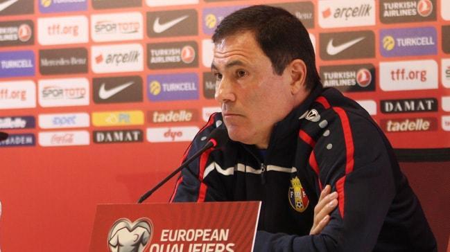 Moldova Teknik Direktörü Alexandru Spiridon: Türkiye maçını kazanacağımızı düşünüyoruz