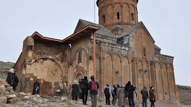 Kars'ta turistlerin gözdesi Ani Ören Yeri
