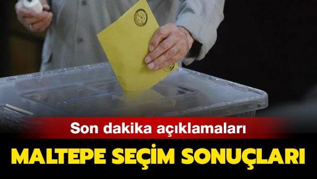 """Maltepe seçim sonucu son dakika! Maltepe seçim sonuçlarında son durum nedir"""""""