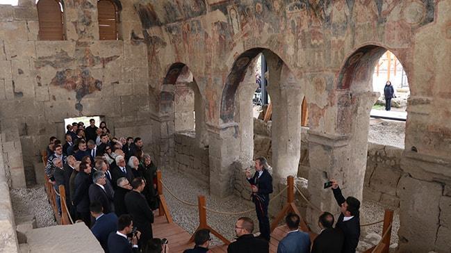 Tarihi Andaval Kilisesi, turizme kazandırıldı