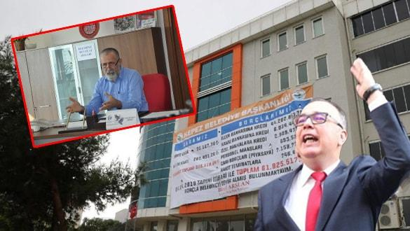 CHP'li başkanlar borç yüzünden birbirine düştü