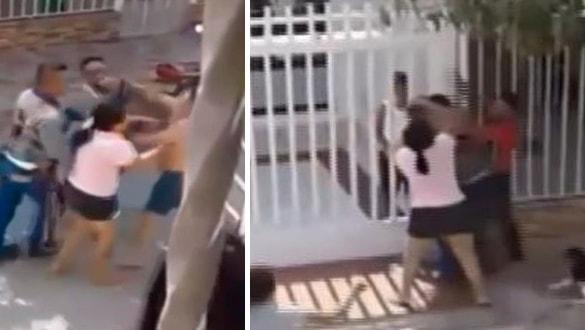 Kaçak elektrik kavgası: Merdiveni sallayıp,görevliyi düşürmeye çalıştı