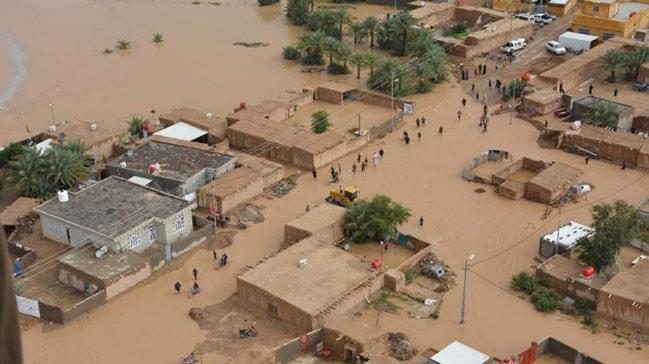 Irak'ta sel mağduru 50 aile güvenli bölgelere tahliye edildi