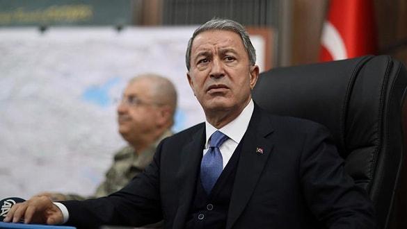 Milli Savunma Bakanı Akar: Hukuk ve antlaşmalar açıkla ihlal edilmektedir