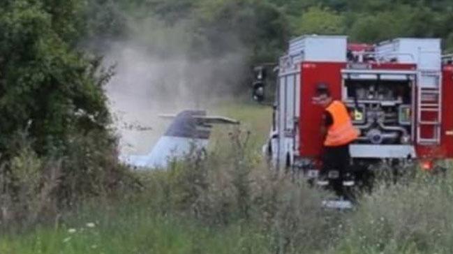 Bulgaristan'da uçak düştü: 2 ölü