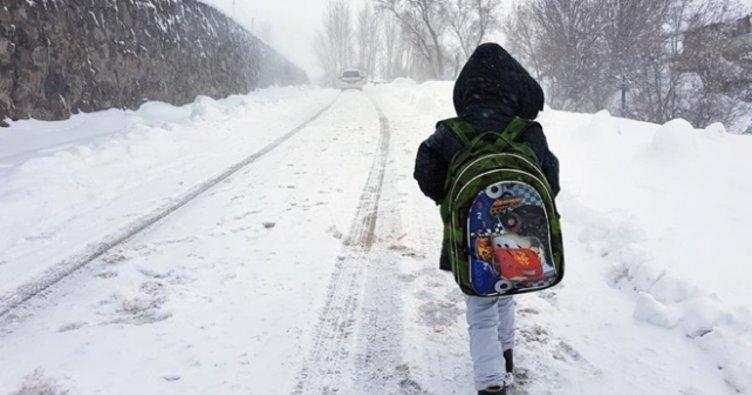 Bitlis'te yarın okullar tatil mi 22 Nisan Bitlis kar tatili haberleri!
