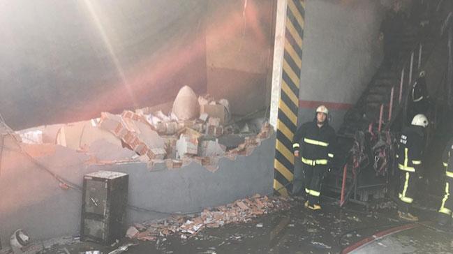 Bursa'da sanayi sitesinde patlama ve yangın: 5 yaralı
