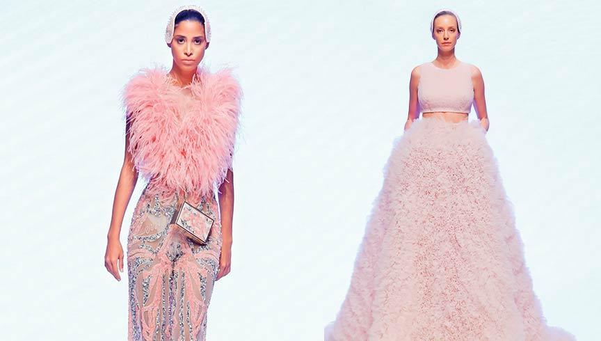 Mehmet Korkmaz Dubai Fashion Week'te