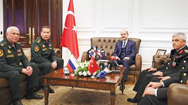 Rus komutanlarlaiç güvenlik toplantısı