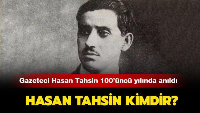 "Hasan Tahsin kimdir"""