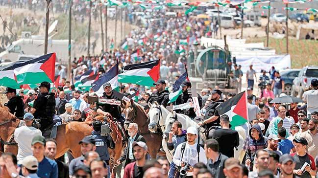'Dönüş hakkı' için yüz binler yürüdü