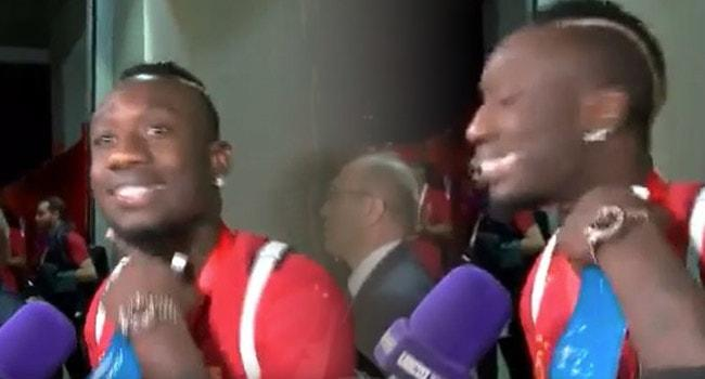 Mbaye Diagne'den maç sonu olay hareket!