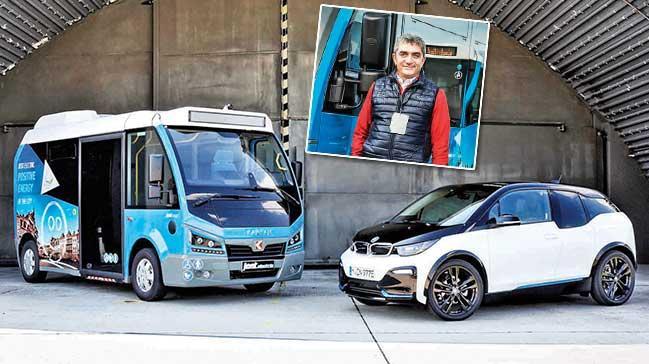 Elektrikli Türk minibüsüJest, Avrupa'yı fethediyor