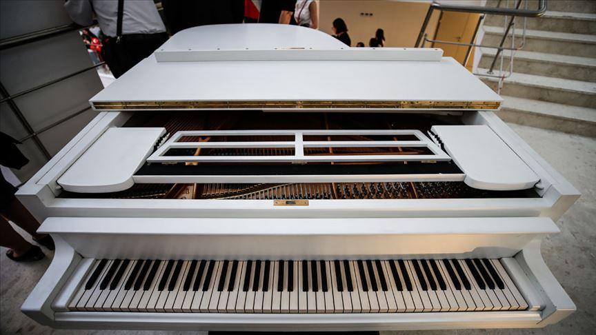 Savarona'daki tarihi piyano Hacettepe'de