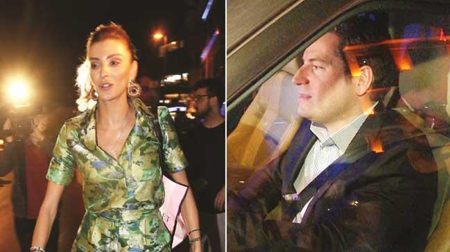 Özge Ulusoy ve sevgilisi birlikte görüntü vermedi