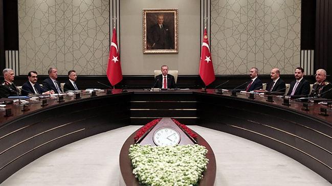 MGK'dan 'Pençe' ve 'Doğu Akdeniz' mesajı: Oldu bittilere izin verilmeyecek