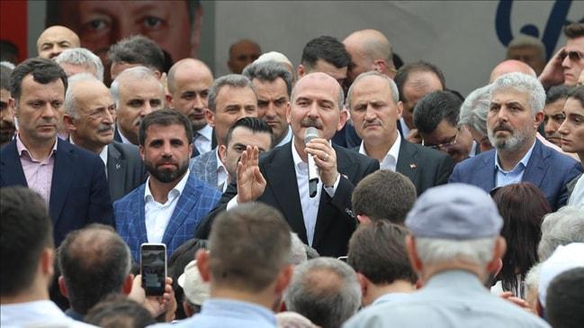 Bakan Soylu çirkin provokasyona böyle yanıt verdi: Ben buraya Demirtaş'ın kucağından gelmedim