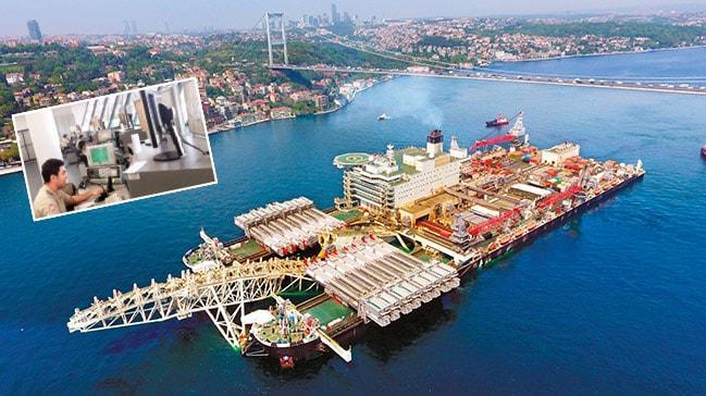 Türk sularında anlıkistihbaratla güvenli gemi geçişi