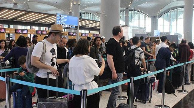 İstanbul Havalimanı bayram tatilinde 1 milyon 776 bin 965 yolcuyu ağırladı