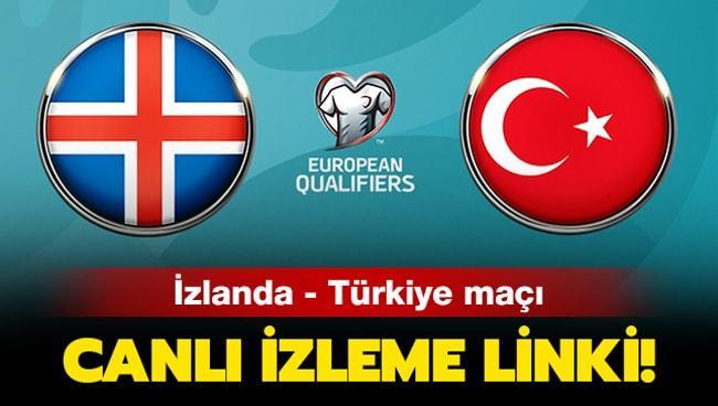 İzlanda Türkiye maçı canlı izle! İzlanda Türkiye milli maç canlı şifresiz nereden izlenir