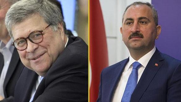 Adalet Bakanı Gül, ABD'li mevkidaşı Barr ile görüştü